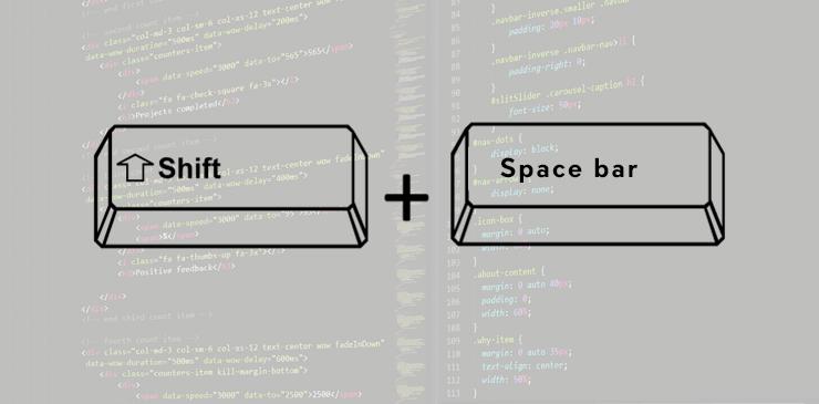 The Keyboard Helps In Scrolling Webpage