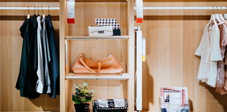 Use All Existing Space Wisely In Your Closet