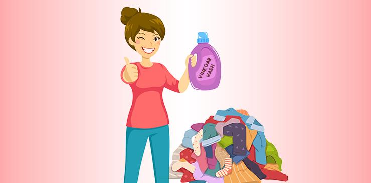 Use Vinegar Rinse