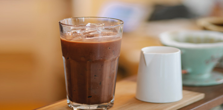 Coffee Hacks With Flavored Ice Cubes