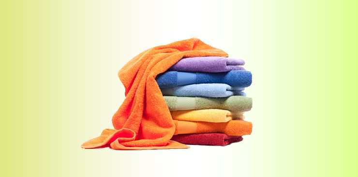 Laundry hacks - Use a clean towel for drying.
